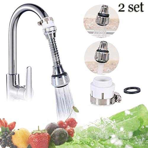 360 Degree Faucet Sprayer Bubbler Sink Kitchen Water Saving Tap Accessory Filter